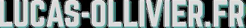 Lucas-Ollivier.fr logo blanc