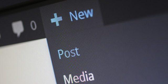 Nouvel article wordpress